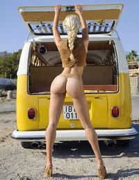 Blonde pornstar